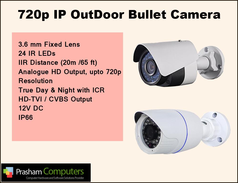 OutDoor Bullet Camera India